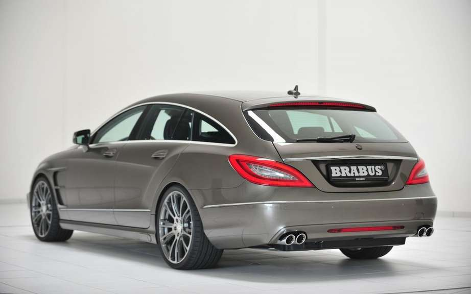 Brabus B63-620: High-performance version of the CLS Shooting Break picture #2