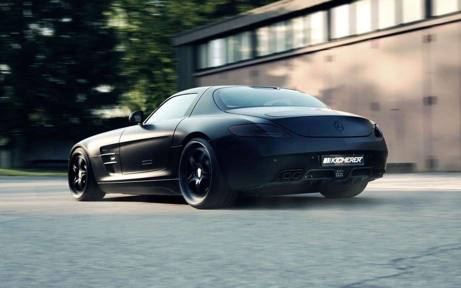 Kicherer Supercharged GT based on the Mercedes-Benz SLS AMG picture #2