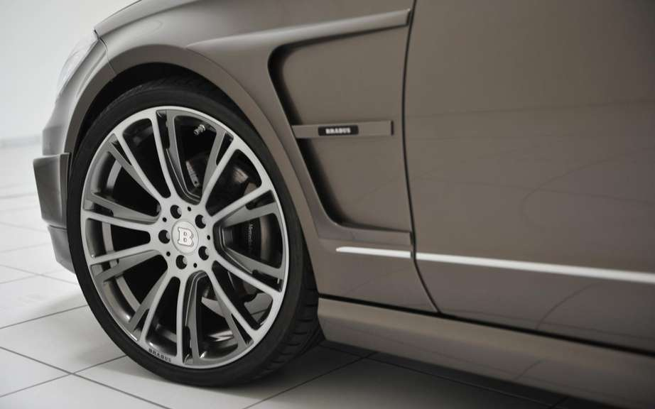 Brabus B63-620: High-performance version of the CLS Shooting Break picture #3