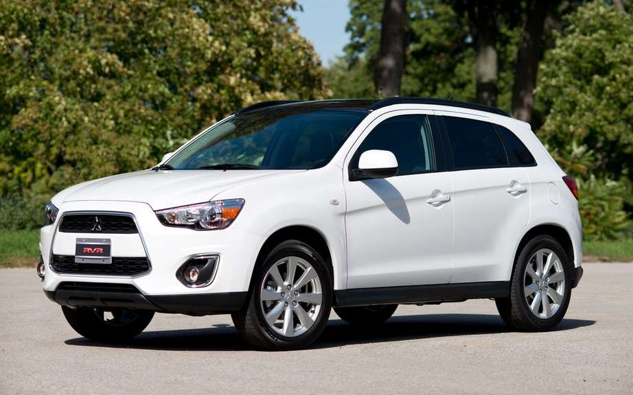 Mitsubishi RVR 2013: no price increase