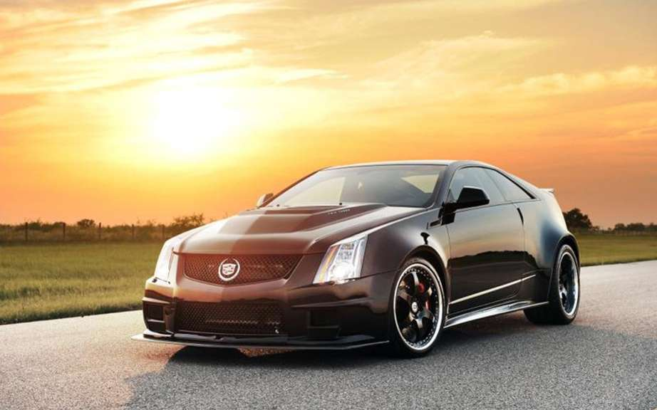 Cadillac CTS-VR1200 1226 hp injected by Hennessey