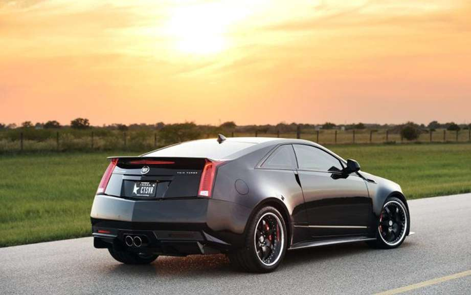 Cadillac CTS-VR1200 1226 hp injected by Hennessey picture #2