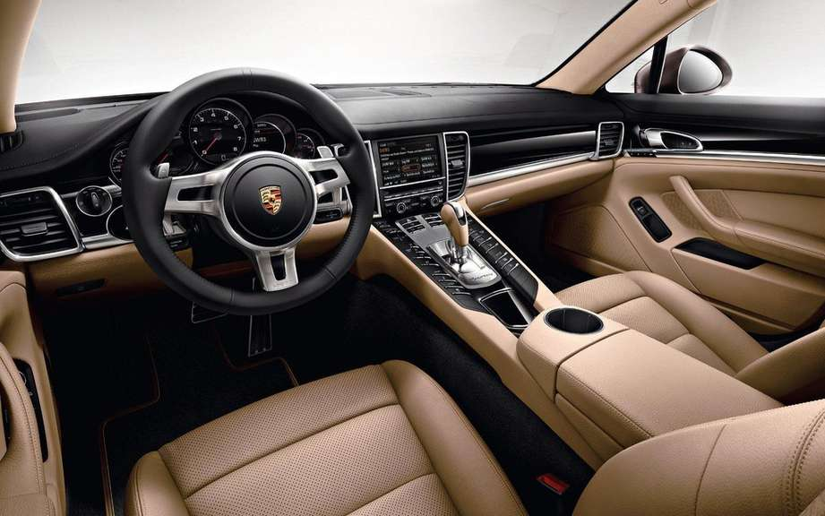 Porsche Panamera Platinum Edition: she is aptly named picture #6