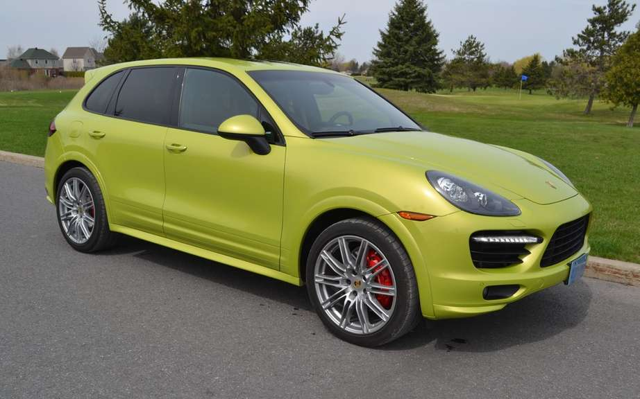 Porsche Cayenne Turbo S: it is not in lace