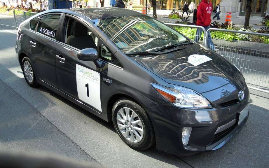 Toyota Canada wins third title Rallye International Vert de Montreal
