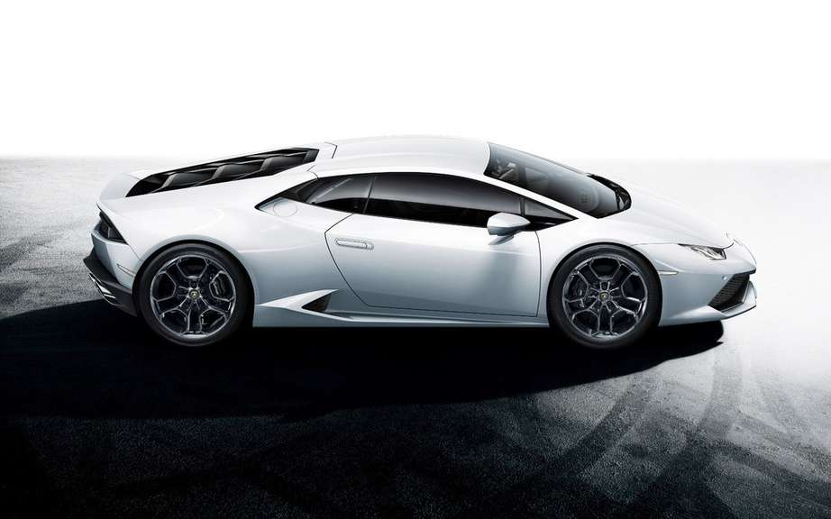 Lamborghini launches the browser of the Huracan LP 610-4 picture #9
