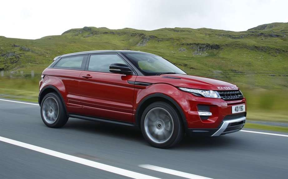 "Range Rover Evoque: elected ""feminine Car of the Year 2012 ' picture #2"