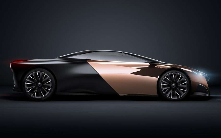 ONYX Peugeot concept car: the preferred public