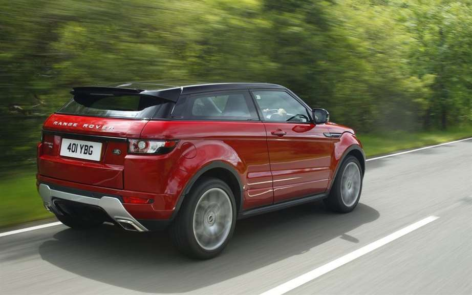 "Range Rover Evoque: elected ""feminine Car of the Year 2012 ' picture #3"
