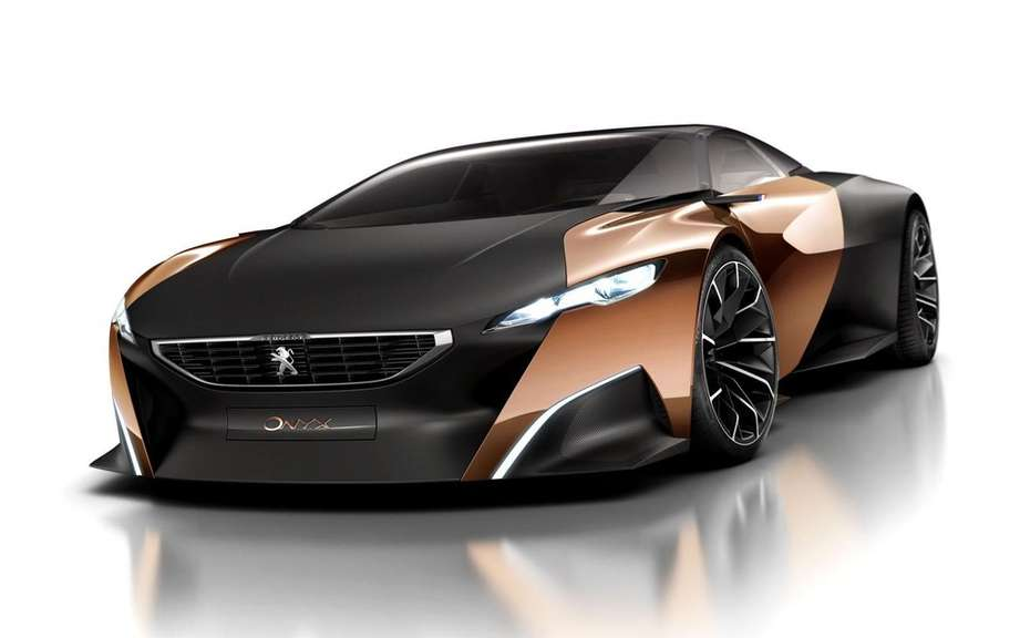 ONYX Peugeot concept car: the preferred public picture #2