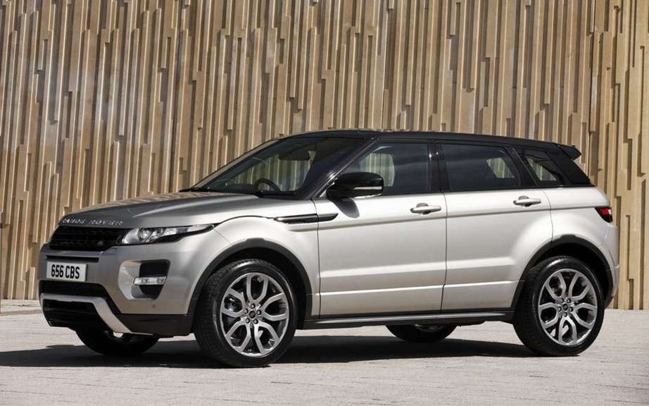 "Range Rover Evoque: elected ""feminine Car of the Year 2012 ' picture #4"