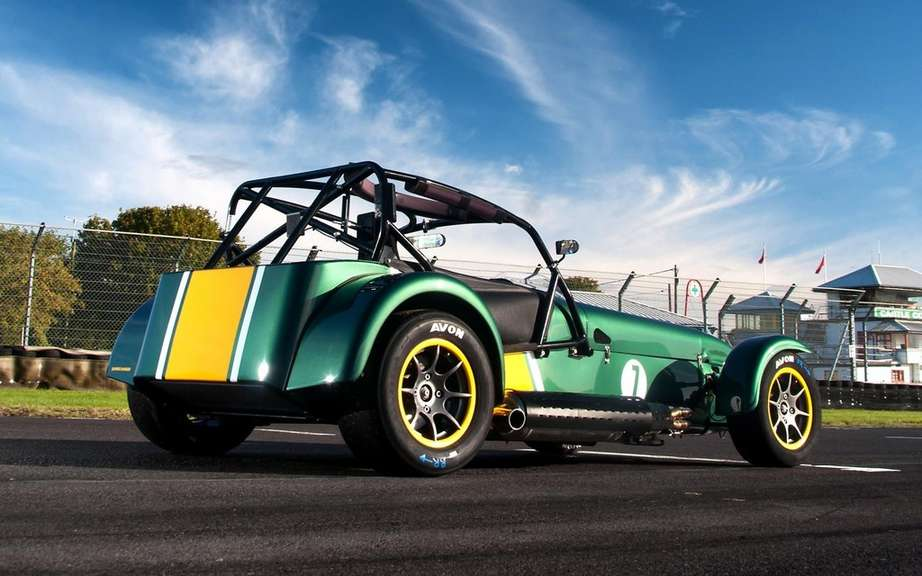 Caterham Superlight R600: ban hit the road picture #2