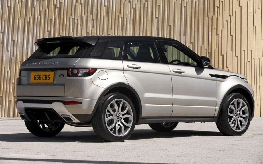 "Range Rover Evoque: elected ""feminine Car of the Year 2012 ' picture #5"