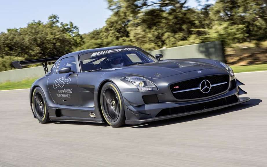 Mercedes-Benz SLS AMG GT3 45th Anniversary: ​​in just 5 copies