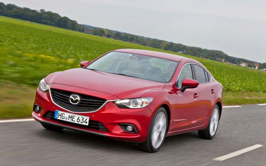Mazda6 2014 we unveiled it's advanced safety technologies i-ACTIVSENSE ' picture #2