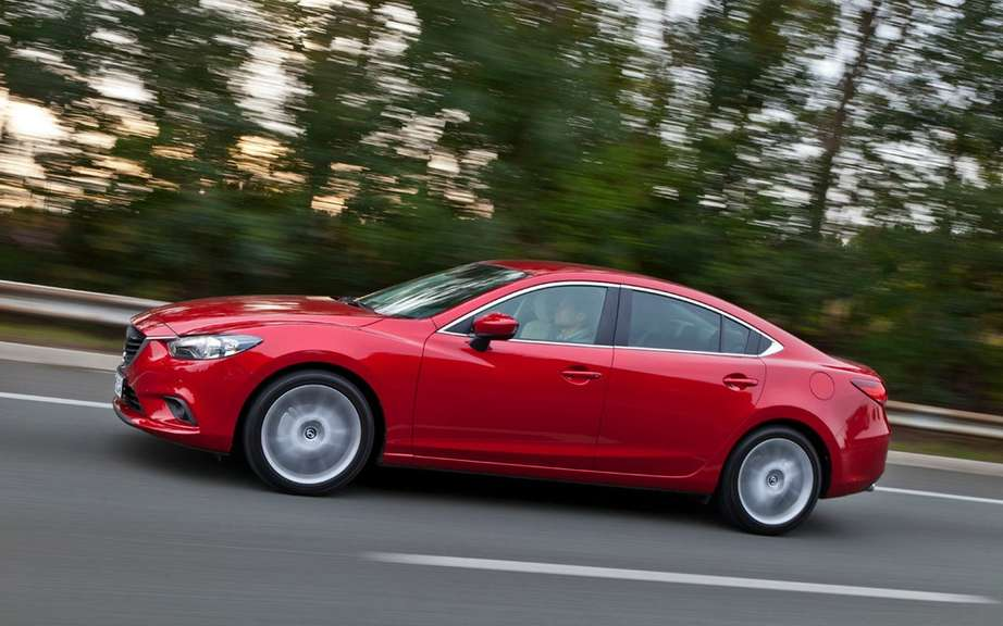Mazda6 2014 we unveiled it's advanced safety technologies i-ACTIVSENSE ' picture #4