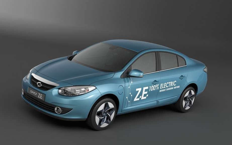 Renault Samsung Motors displays its leadership in matters of electric vehicles