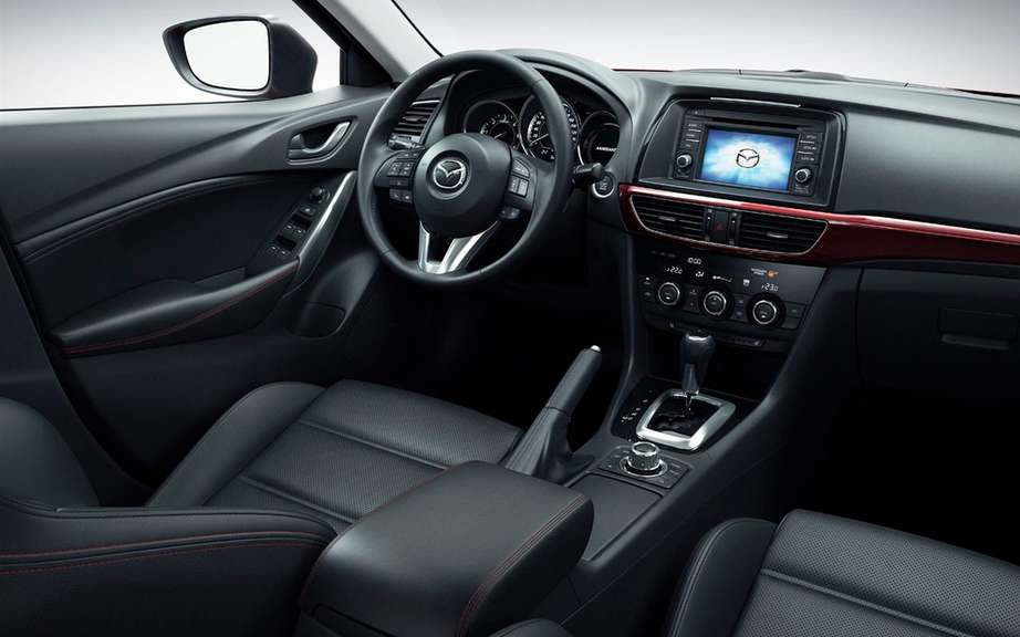 Mazda6 2014 we unveiled it's advanced safety technologies i-ACTIVSENSE ' picture #5