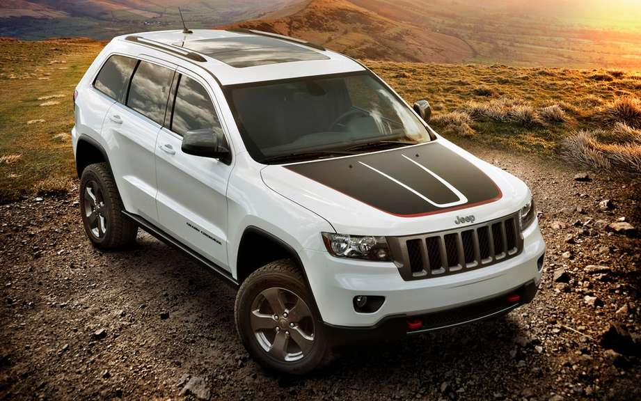 Jeep Grand Cherokee and Wrangler Moab Trailhawk