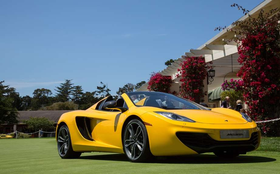 McLaren MP4-12C Spider: a competition of elegance to other