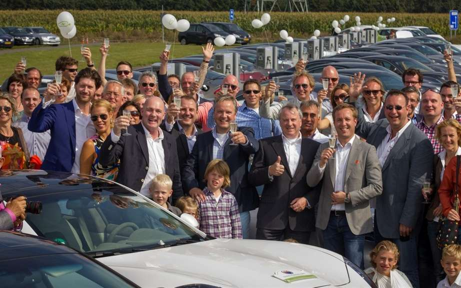 Fisker has establish two world records