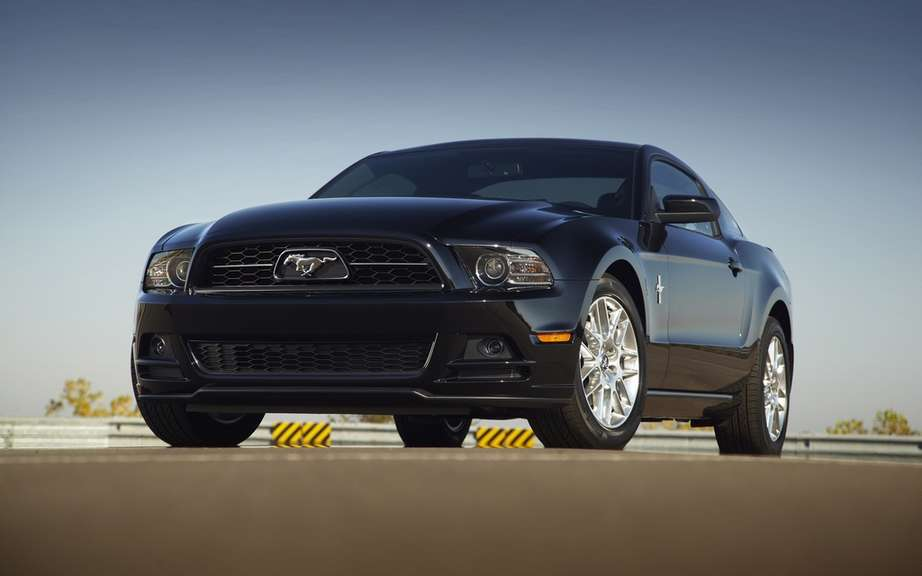 Ford Mustang 2014 REFERRED european