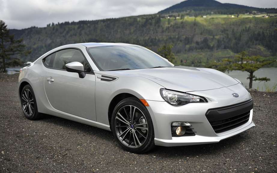 Subaru BRZ 2013: Award-Winning as the best choice by IIHS