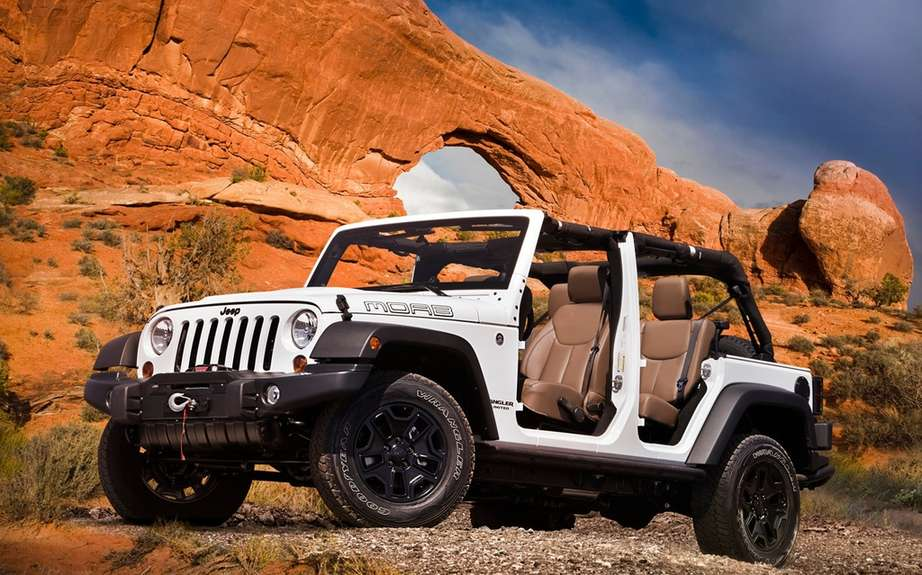 Jeep Grand Cherokee and Wrangler Moab Trailhawk picture #4