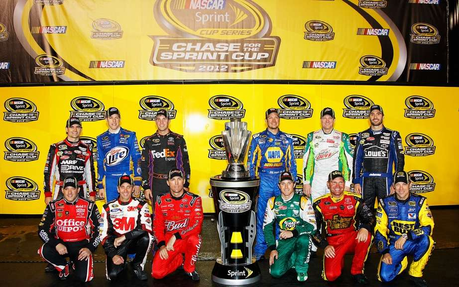 The twelve nominees for the NASCAR Sprint Cup are known