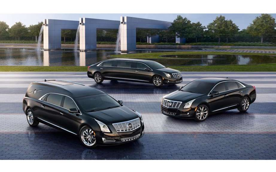 Cadillac XTS limousine and hearse