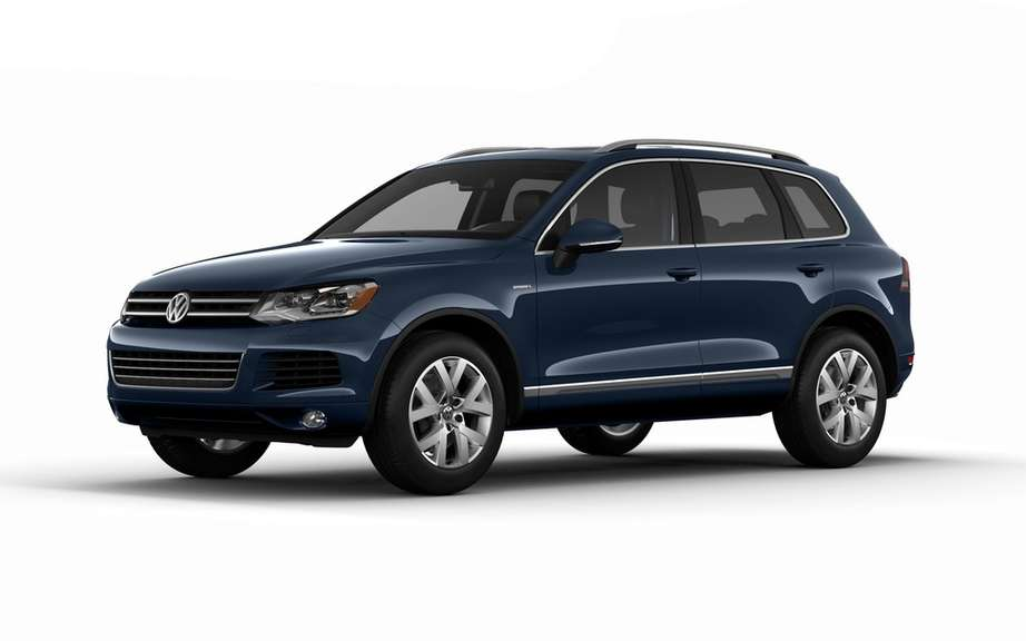 Volkswagen Touareg Edition X: for his 10 years of service