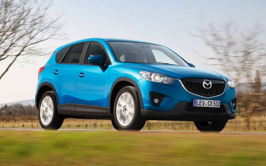 The Mazda CX-5 wins the AUTO BILD Design Award 2012 European