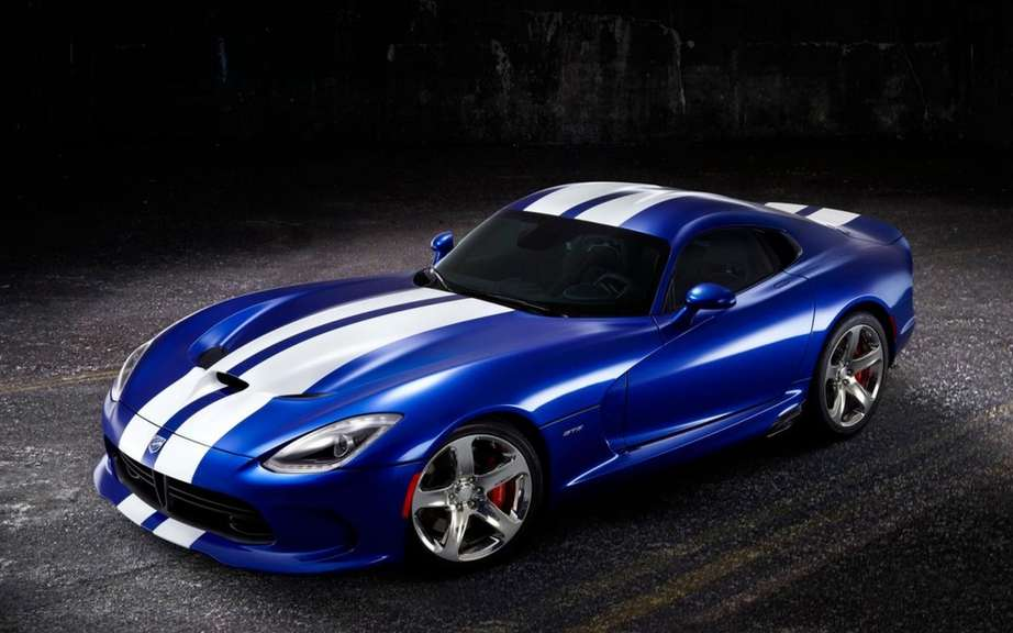SRT presents his Viper GTS Launch Edition