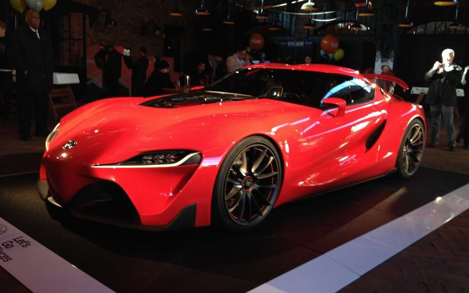 Toyota Supra records the name