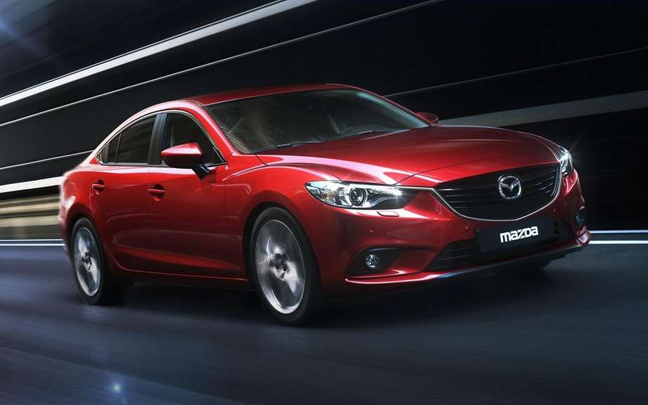 Mazda6 2014 unveiling the sedan series