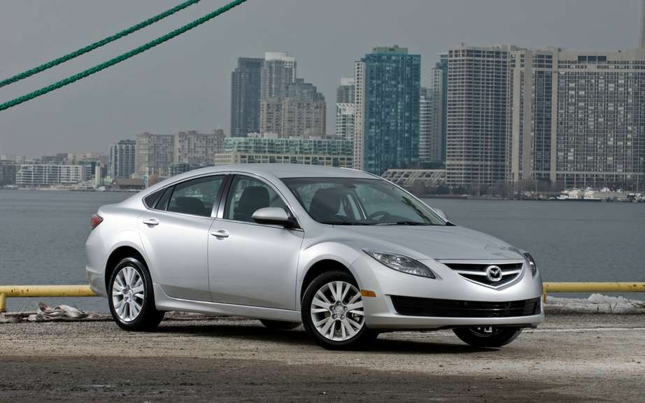 Mazda6: end of production in North America