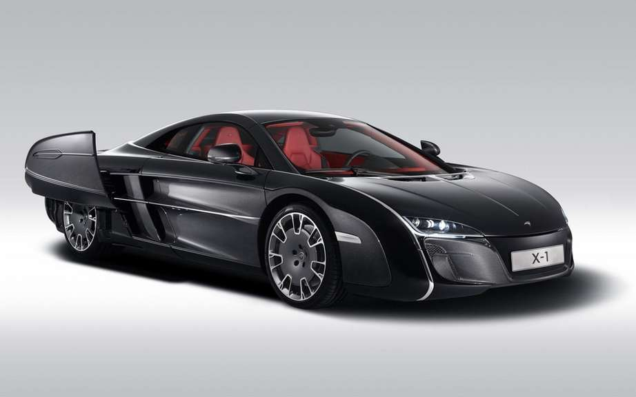 McLaren X-1 Concept: it is the enthusiasm Pebble Beach