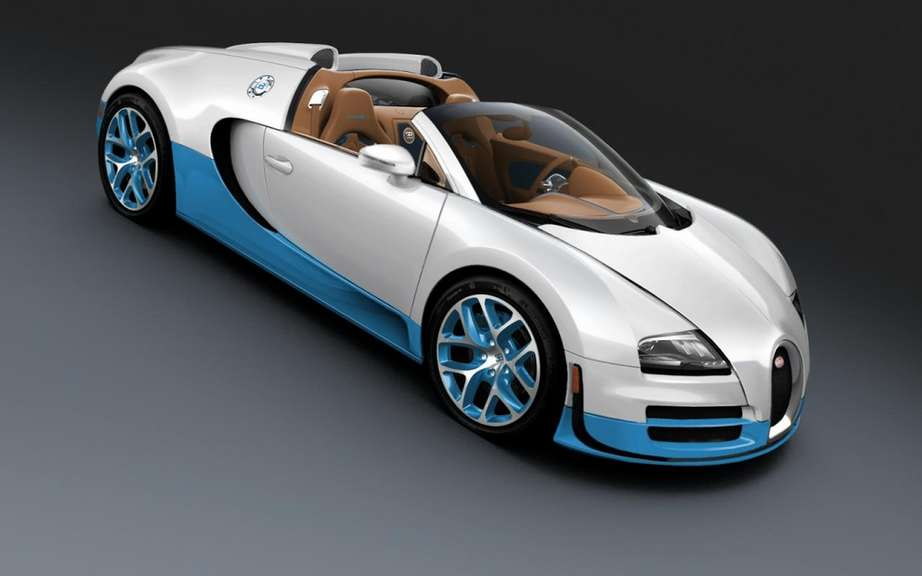 Bugatti Veyron Grand Sport Vitesse SE: single model for Pebble Beach picture #2