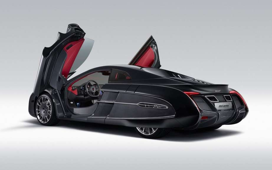 McLaren X-1 Concept: it is the enthusiasm Pebble Beach picture #2