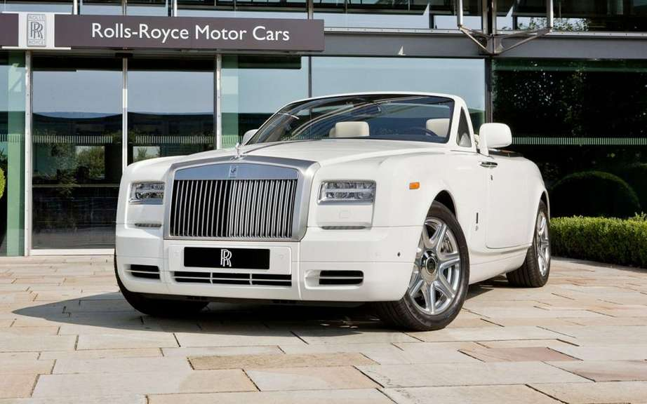 Rolls Royce Phantom Drophead Coupe at the Olympics