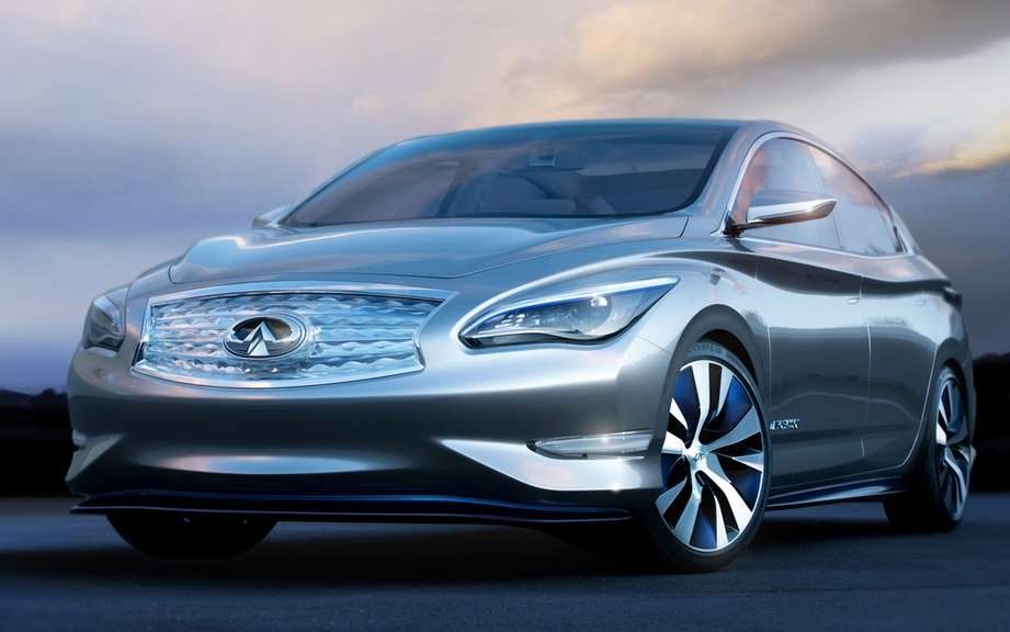Infiniti Emerg-E brings its concepts and LE Pebble Beach picture #5