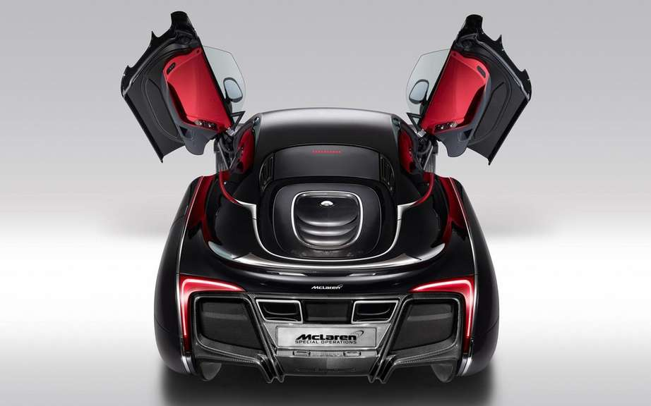 McLaren X-1 Concept: it is the enthusiasm Pebble Beach picture #5