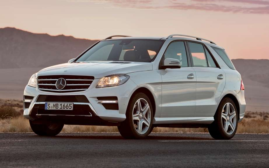 Mercedes-Benz recalls its popular M-Class SUV picture #1