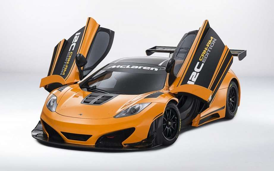 McLaren 12C Can-Am Edition: Concours d'Elegance at Pebble Beach picture #4