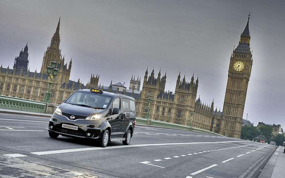 Nissan presents its London taxi picture #2