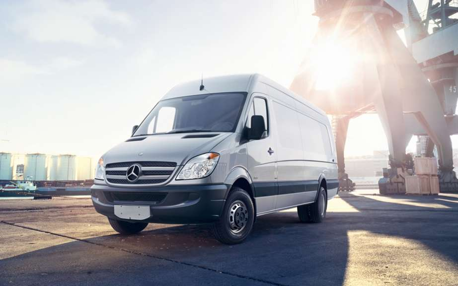 The Mercedes-Benz Sprinter recognized provide the lowest total cost of ownership in Canada for the third consecutive year