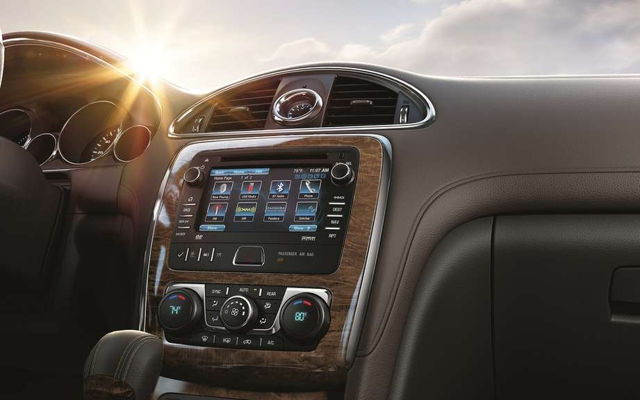 Buick integrated the connective intellilink on all models 2013 picture #2