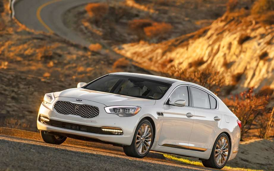 Kia K900: A coreenne in the big leagues picture #9