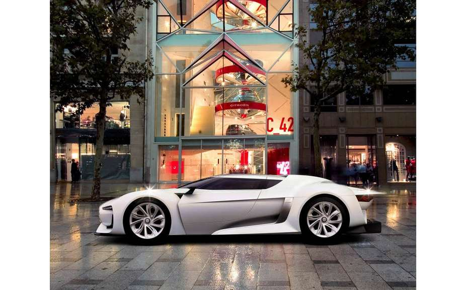 Citroen concept cars and has the honor to C_42