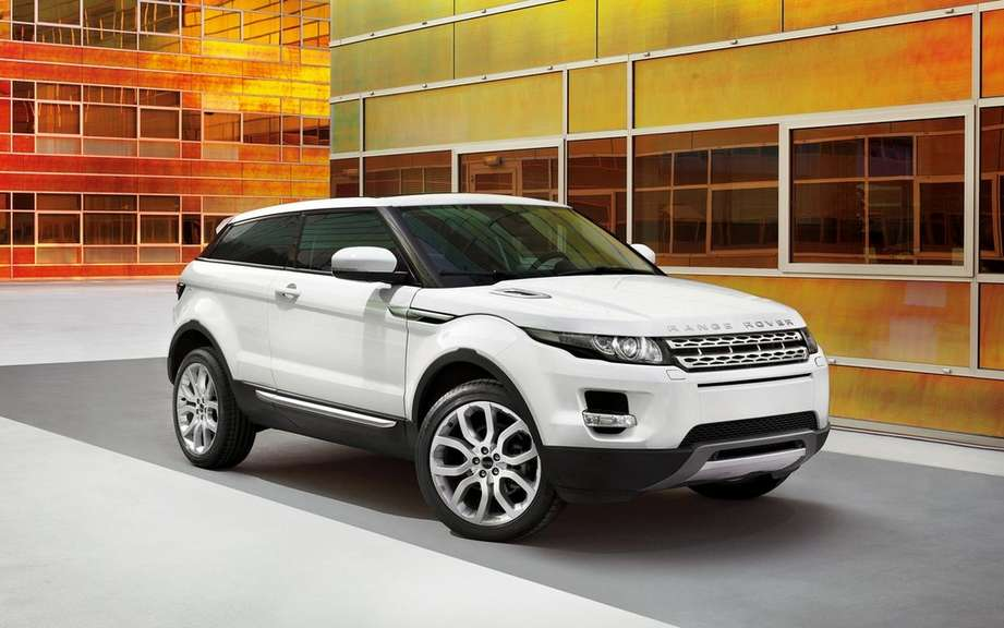 Range Rover Evoque is a more compact model in preparation